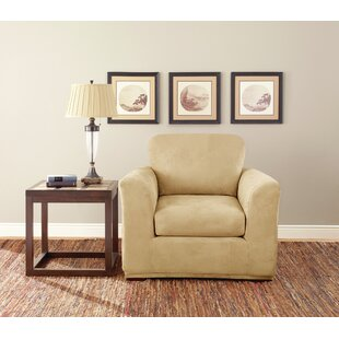 Box Cushion Armchair Slipcover (Set of 3)
