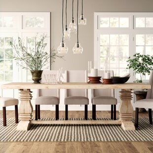 Zigler Solid Wood Dining Table by Birch L..