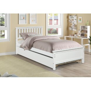 Poff Twin Bed with Trundle by Harriet Bee