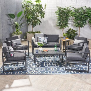 Orren Ellis Mcginnis 6 Piece Sofa Seating Group with Cushions