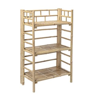 Bamboo Bookcase By Bloomingville