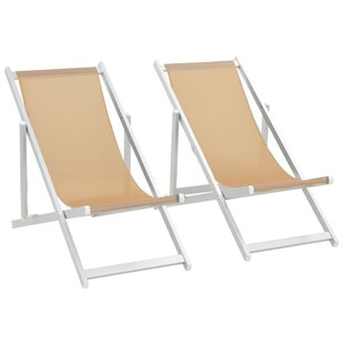 Ulloa Reclining/Folding Beach Chair (Set Of 2) By House Of Hampton