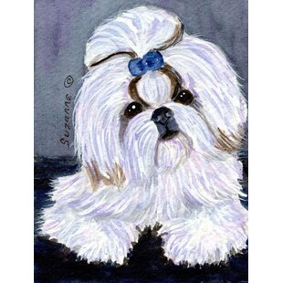 Shih Tzu 2-Sided Polyester 40 x 28 in. House Flag