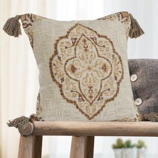 Westcliffe Medallion 100% Cotton Throw Pillow