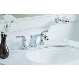 Devonshire Widespread Bathroom Faucet with Drain Assembly By Kohler