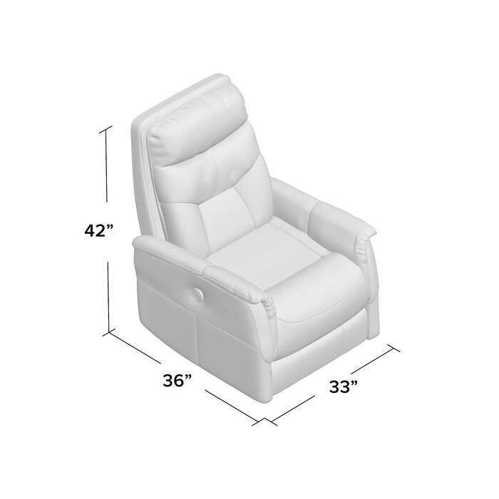 Brilliant Chilson Power Glider Swivel Recliner Inzonedesignstudio Interior Chair Design Inzonedesignstudiocom