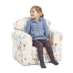 Ferry Animal Camp Children's Club Chair By Zoomie Kids