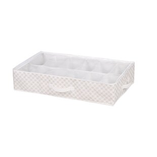 Reviews Blossom 12 Pair Shoe Box Underbed Storage By Home Basics