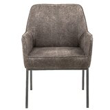 Rico Arm Chair in Taupe by Williston Forge