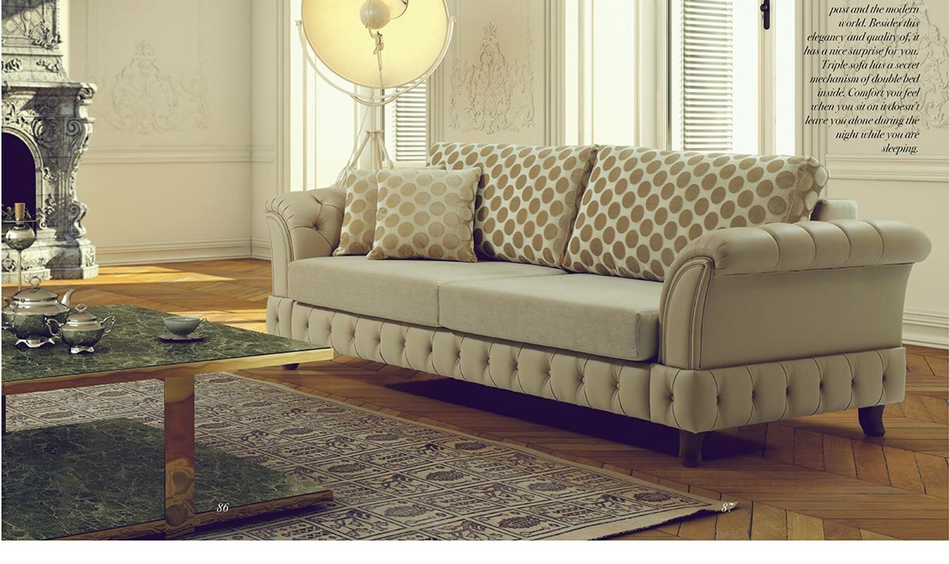 keifer convertible sofa