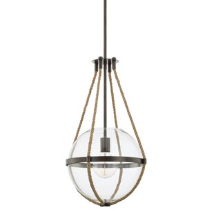 Gonzalas 1-Light Globe Pendant
