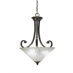 Fleur De Lis Living Babin 3-Light Bowl Pendant