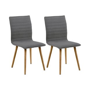 Hollis Upholstered Dining Chair (Set Of 2) By Ebern Designs