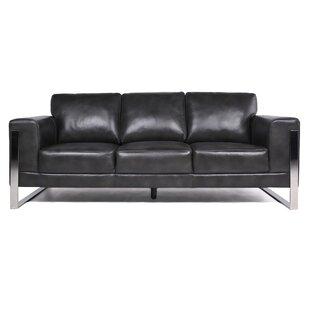 Modern & Contemporary Sofa With Chrome Legs   AllModern