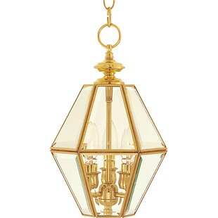 House of Hampton Oaklee 3-Light Lantern Pendant