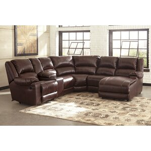 Brittanie Reclining Sectional by Winston Porter