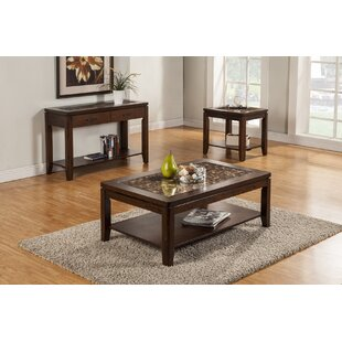 Cici 3 Piece Coffee Table Set