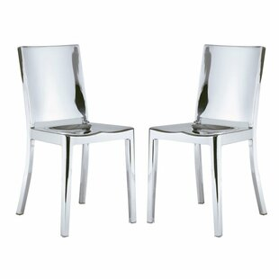 Portillo Arm Less Dining Chair (Set of 2) Orren Ellis
