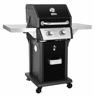 Price Check Patio 2-Burner Propane Gas Grill with Side Shelves Royal Gourmet Corp