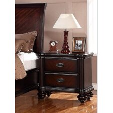 Jurupa 2 Drawer Nightstand by A&J Homes Studio