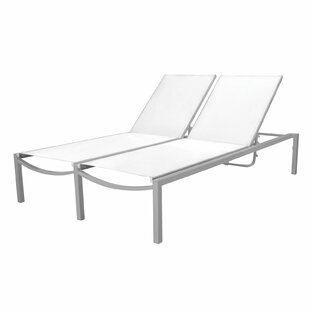 Orren Ellis Jonna Double Chaise Lounge