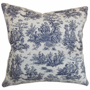 Petersen Toile Floor Pillow