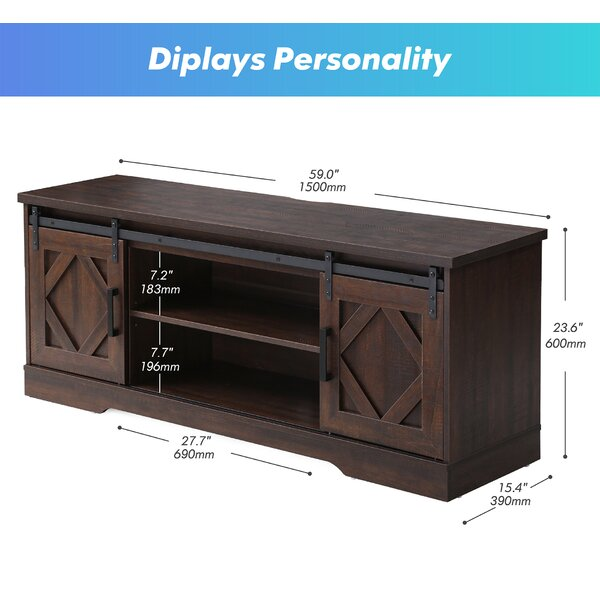 Gracie Oaks Haylia Tv Stand For Tvs Up To 65 Reviews Wayfair