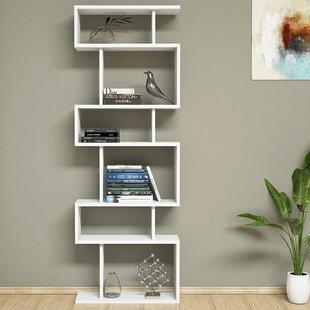 Gebhardt Modern Geometric Bookcase by Ebern Designs
