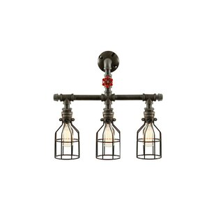 Pipe 3-Light Vanity Light by West Ninth Vintage