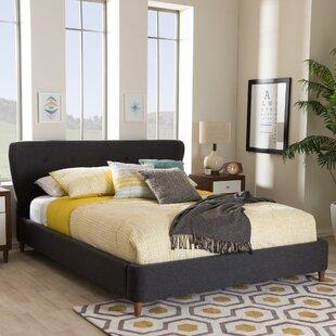 Brydon Upholstered Platform Bed by George Oliver