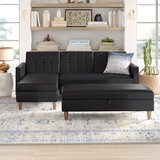 Cordell 84 Reversible Sleeper Sectional with Ottoman by Mistana