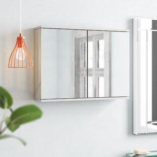 Simplicity 60cm X 45cm Surface Mount Mirror Cabinet By Belfry Bathroom