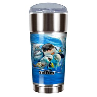 Ocean Selfies 24 oz. Stainless Steel Travel Tumbler