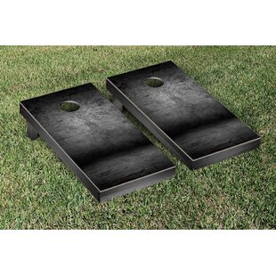 Victory Tailgate Cement Themed Cornhole Game Set