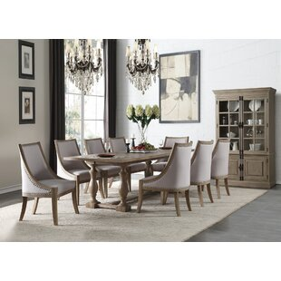 Demby 9 Pieces Dining Set