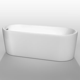 Buy clear Ursula 67 x 27.5 Soaking Bathtub By Wyndham Collection