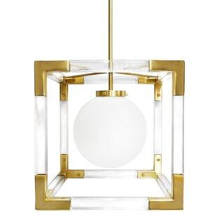 Jonathan Adler Jacques 1-Light Square/Rectangle Pendant