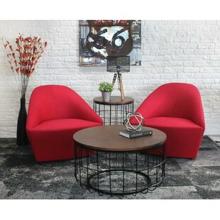 Helsel 2 Piece Coffee Table Set
