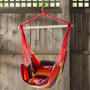Geiger Hanging Cradle Cotton Chair Hammock by Bungalow Rose