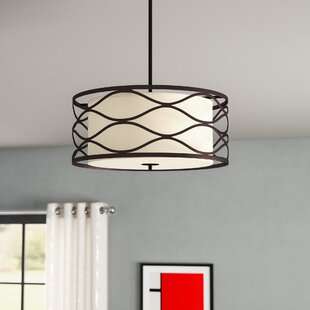Cherrywood 3-Light Semi Flush ..