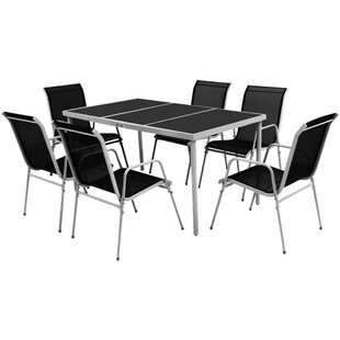 Chastain 6 Seater Dining Set By Sol 72 Outdoor