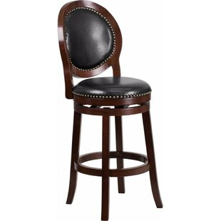 Read Reviews Jeremiah 30 Swivel Bar Stool by Darby Home Co Reviews (2019) & Buyer's Guide