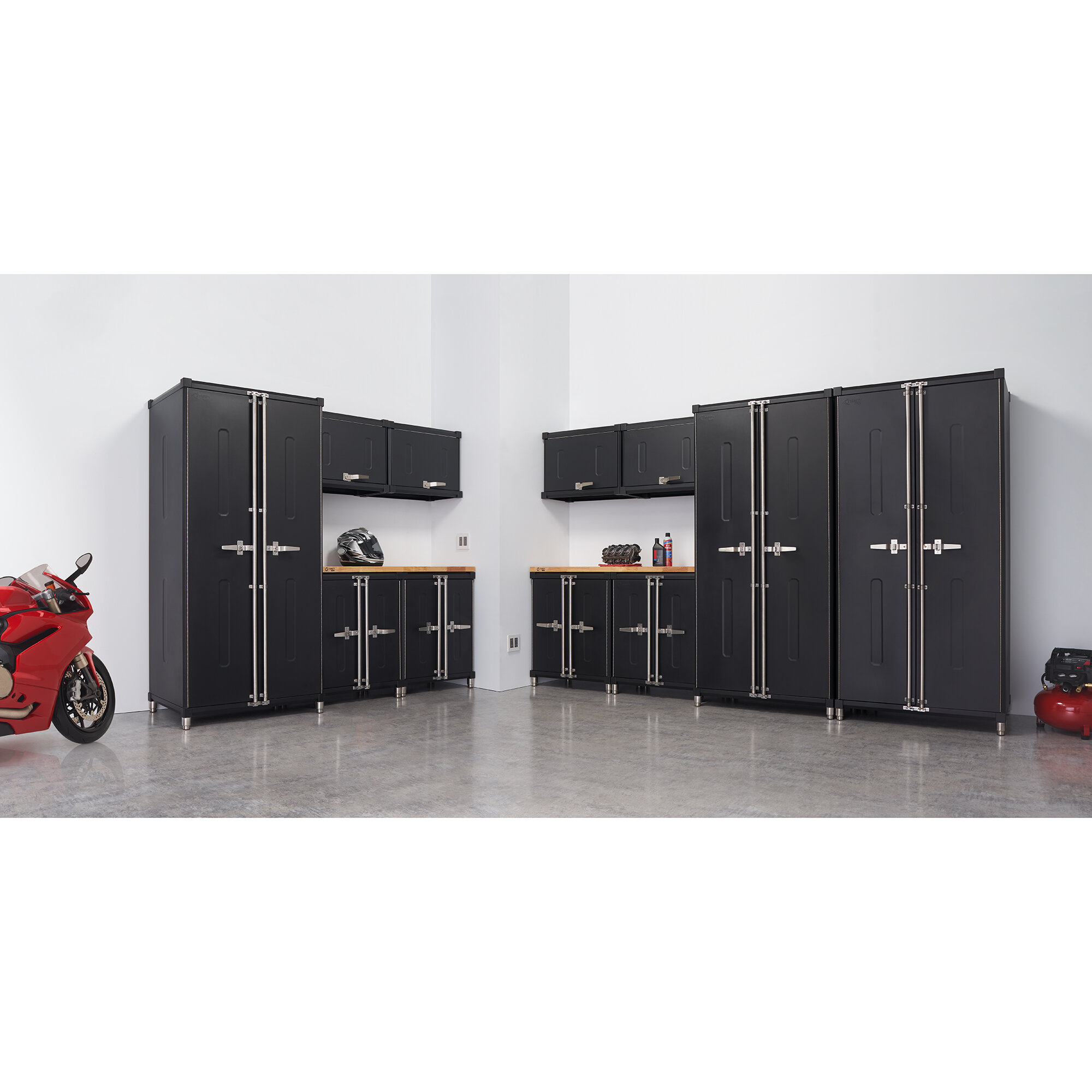 Trinity Pro 13 Piece Garage Cabinet Set Wayfair
