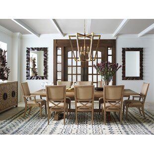 Los Altos 9 Piece Extendable Dining Table Set