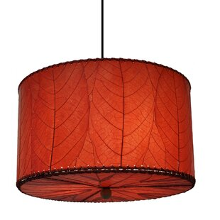 Eangee Home Design 3-Light Drum Chandelier