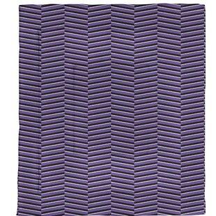 Boozer Fractured Stripes Microfiber Single Reversible Comforter by Brayden Studio