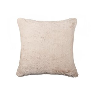 Sheba Square Faux Fur Throw Pillow