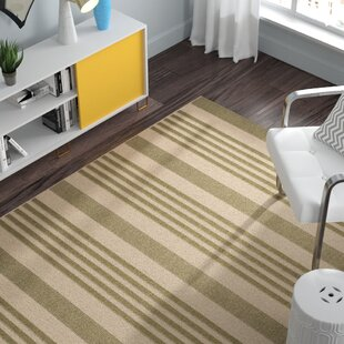 Sophie Green/Beige Indoor/Outdoor Area Rug