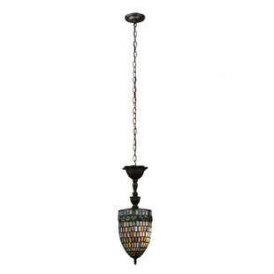 Meyda Tiffany Belted Turtleback 1-Light U..
