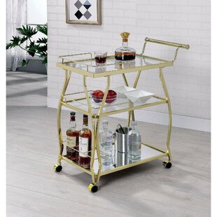 Schuster 3 Tier Bar Cart by Mercer41
